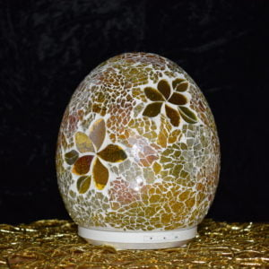Glass mosaic electric diffuser