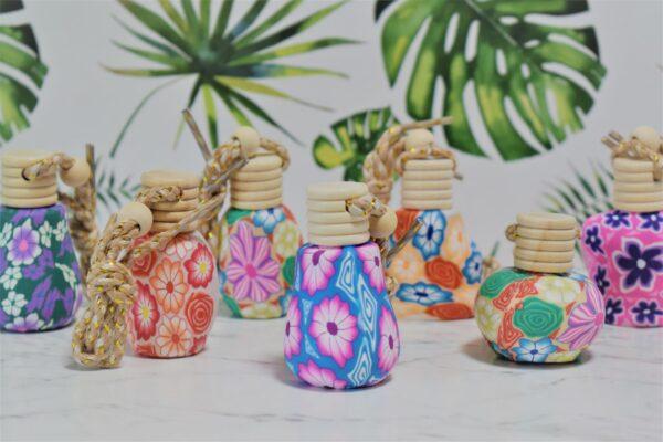 Mini essential oil diffuser bottles