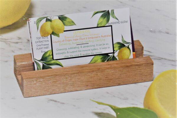 """A """"Lemon Oil Collector Card"""""""
